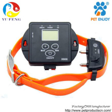 LCD Digital 5 levels Rechargeable , waterproof 300m control temporary dog fence x-800