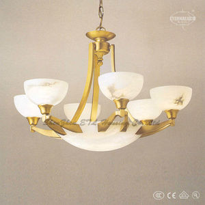 Luxury Villa Alabaster Chandelier Lighting Etl87076