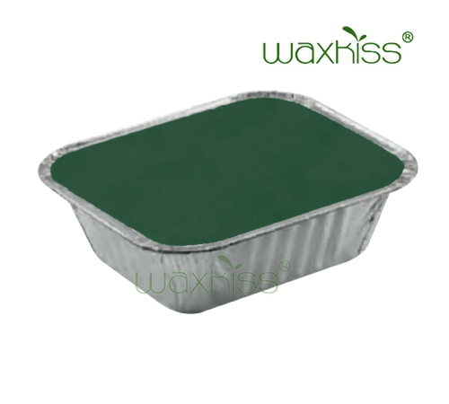brazilian natural green hard depilatory wax