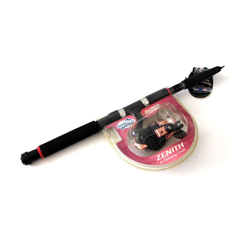 Stock fishing combo telescopic set fishing rod and reel tackle set