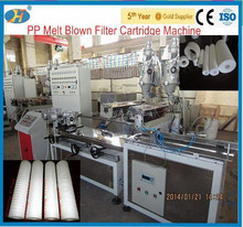 24 years manufacturer supply pp filter cartridge making machine in Wuxi