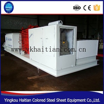Building Arch Roof Tile Making Machine