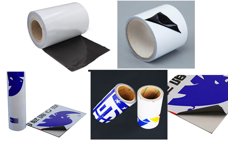 Customized Blow Molding Black and White Aluminum Composite Protection Film