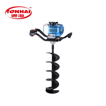 Th Ea6806 52cc Gas Powered Post Hole Digger For Tree Transplanting