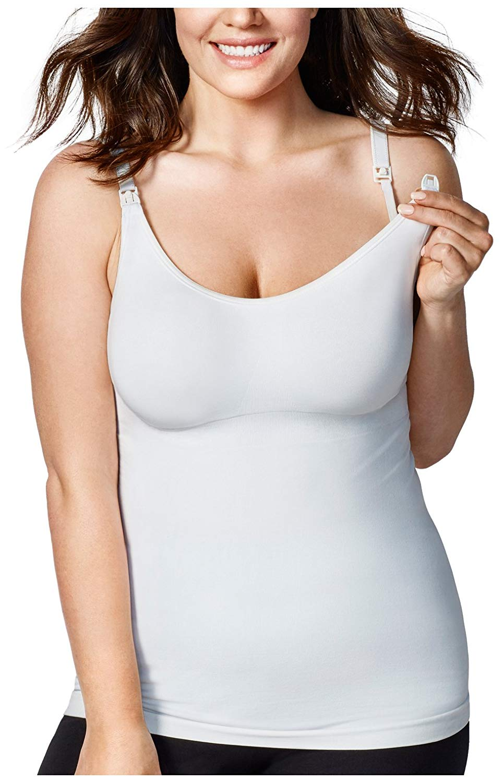 d0308510bf1c0b DESIGNS Women s Maternity Body Silk Seamless Nursing Cami