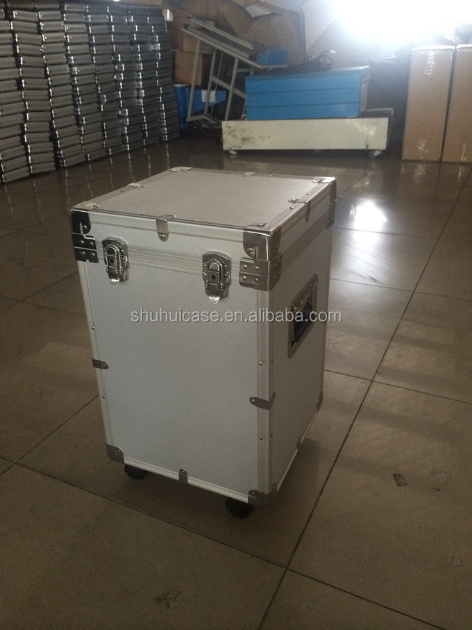aluminum Sound equipment box with wheels