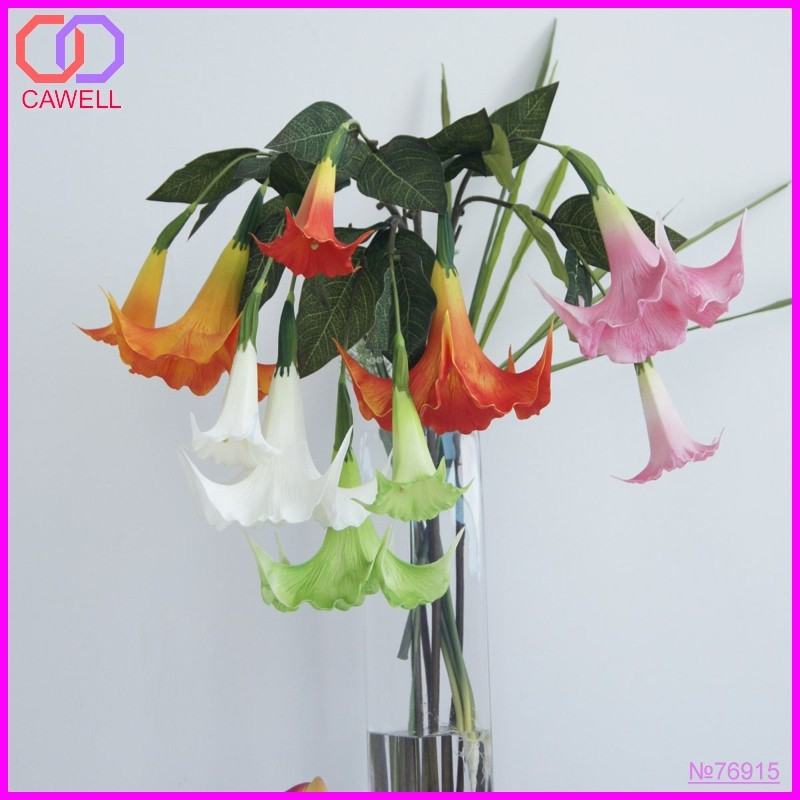 silk artificial flower Dature Stramonium Morning Glory