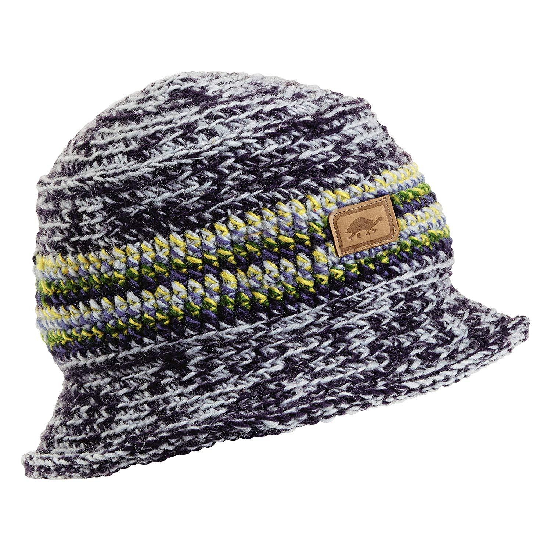 b54307606bd Get Quotations · Turtle Fur Lalit Nepal Hand Knit Wool Bucket Style Hat  Lined w Fleece