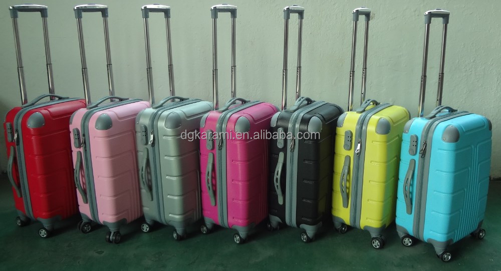 20''24''28'' Expandable Spinner abs travel hand luggage trolley