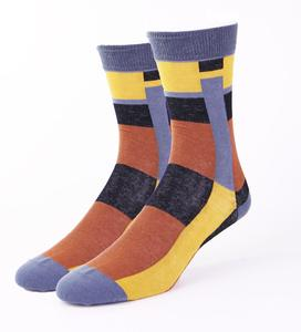 Custom Socks No Minimum Order Custom Design Fashion In-Stock Socks Colorful  Socks