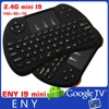2.4g mini fly air mouse I9 mini Wireless Keyboard for Android TV Box Built-in lithium-ion battery