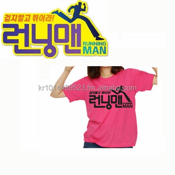 Korea Tv Sbs Runningman Logo Tshirt With Name Tag Custom T Shirt Short Sleeve Buy Korea T Shirts Printing Product On Alibaba Com