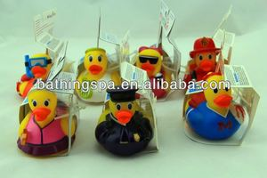 Hot selling rubber duck bath toy
