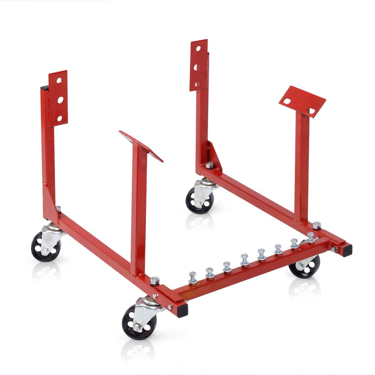 1000lb Auto Engine Cradle Stand Chevrolet Chevy Chrysler V8 with Dolly Wheels