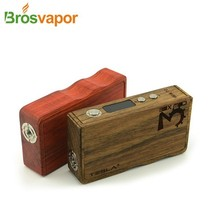 the best vv vw wood box mod tesal wood 160W TC tesal ecig