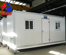 Low Cost 20ft 40ft PU Sandwich Panel Prefabricated Container House