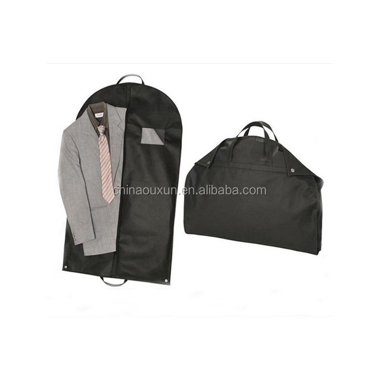 Factory price customized garment travel suit cover bag with custom logo