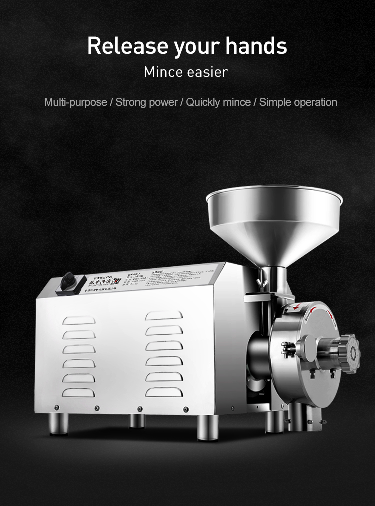 electric commercial paper grinder electric grinder coffee grinder flour mill machinery wheat flour mill price