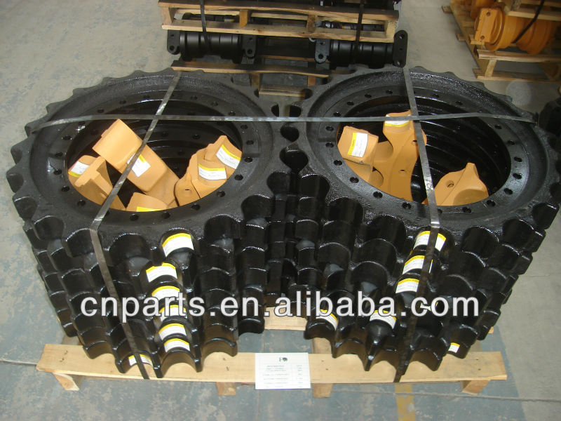 High Quality D4D Bulldozer Excavator Chain Sprocket Wheel