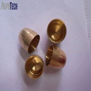 Custom Home Appliance Parts CNC machining Brass Walking Stick Parts
