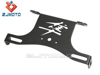 Motorcycle Suzuki Hayabusa 1300 (08 09) FENDER ELIMINATOR / TAIL TIDY BLACK License Bracket ZJMOTO