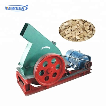 NEWEEK movable diesel making fuels disc wood chipper machine price