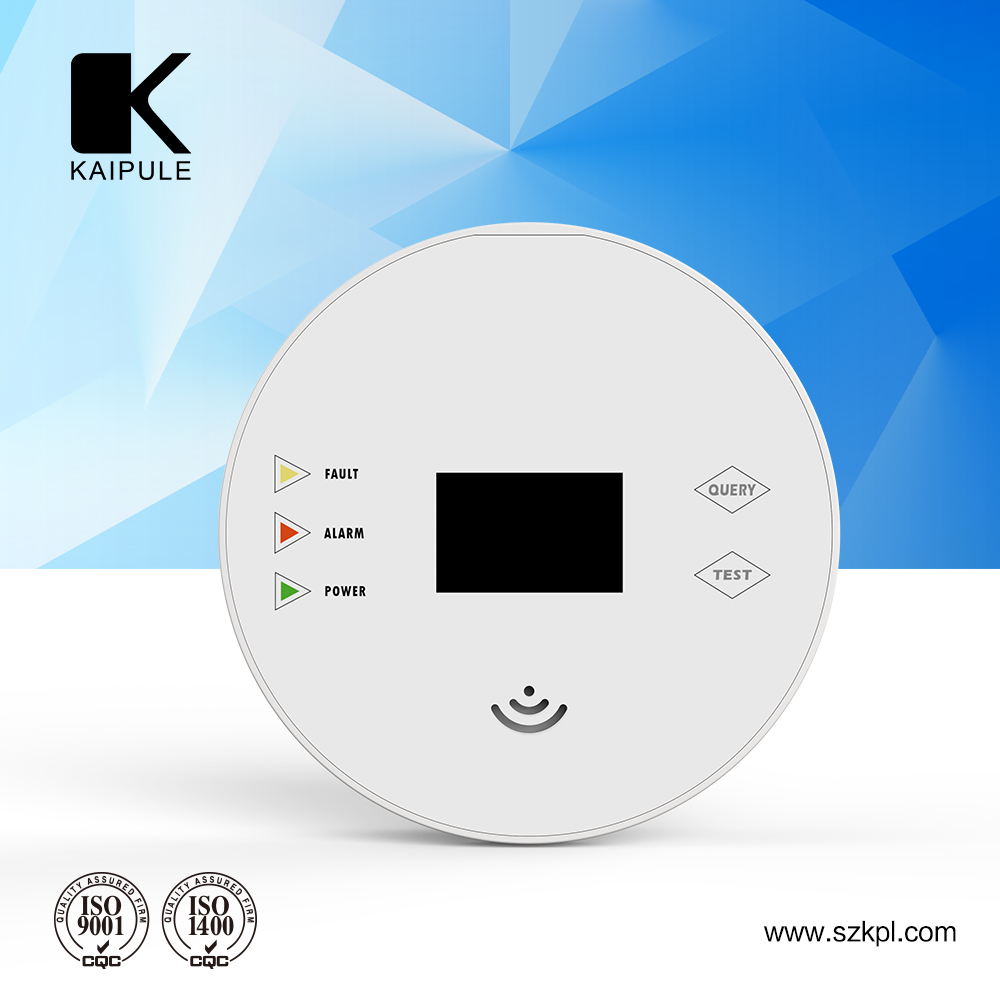 2017 OEM Independent blink home security camera system Carbon Monoxide Alarm Detector With Ultra-low Power Consumption