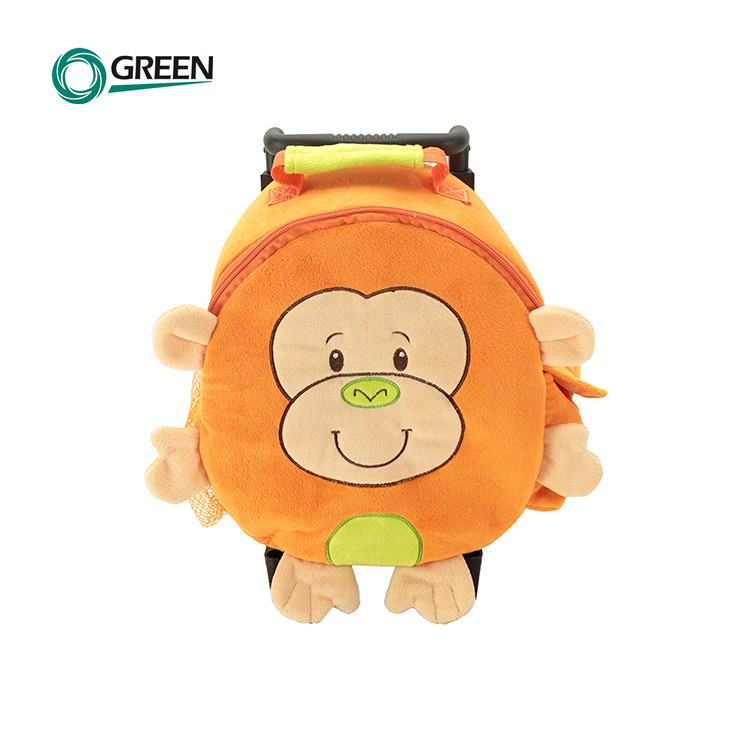 Fashionable Plush animal backpack school bag kids