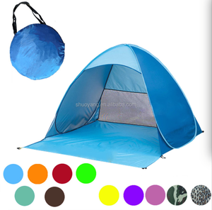 Wholesale Automatic Pop Up Tent / Beach Umbrella Folding Beach Tent / Beach Tent Sun Shelter