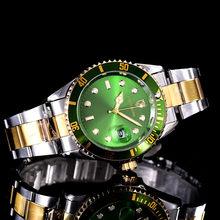 2020 SOUTHBERG роскошные модные мужские часы кварцевые Стальные Топ брендовые зеленые наручные часы для мужчин relogio masculino Rolexable часы(Китай)