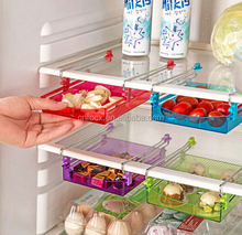 Multipurpose Fridge Storage Sliding Drawer / Refrigerator Organizer / plastic storage drawer organizer