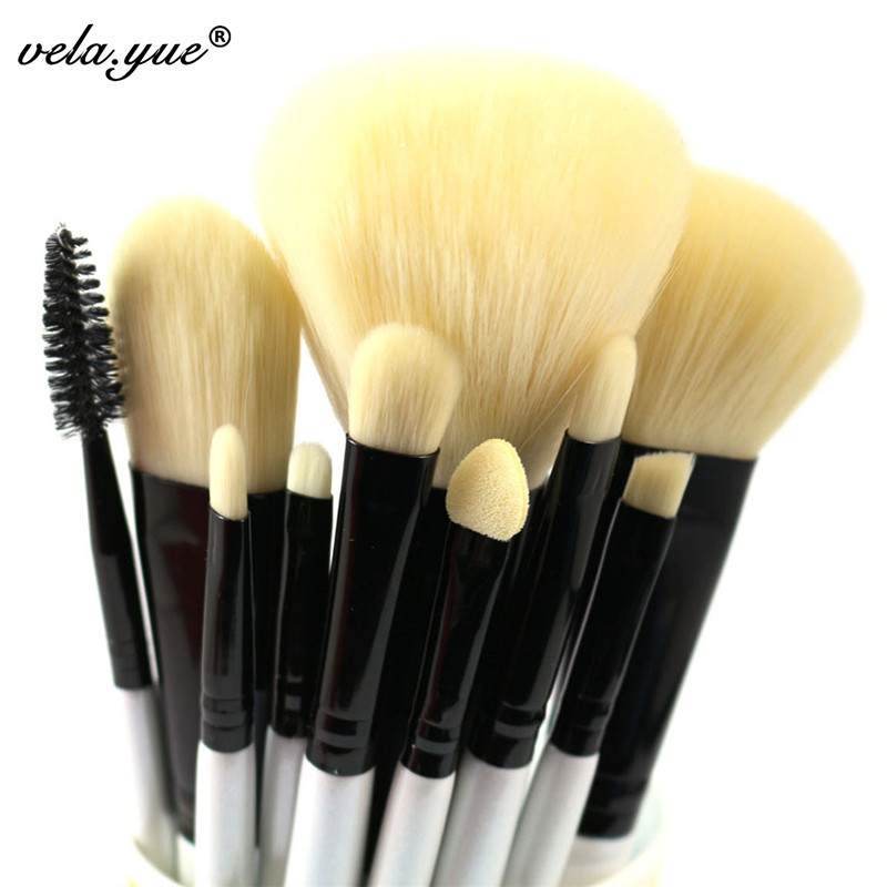 caca252577d4 10pcs Professional Makeup Brushes Set High Quality Makeup Tools Kit Premium  Full Function - Unfair Weight