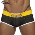 Taddlee Brand Summer Men s Swimming Boxers Trunks Shorts Man Low Waist Men Swimwear Gay Swim
