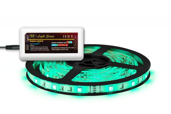 2.4g RGBW led strip controller wifi remote adjustable color changing and dimming,support IOS and adroid APP