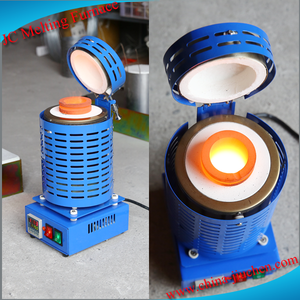 New Factory Sale Induction Gold Glass Melt Furnace With Crucibles