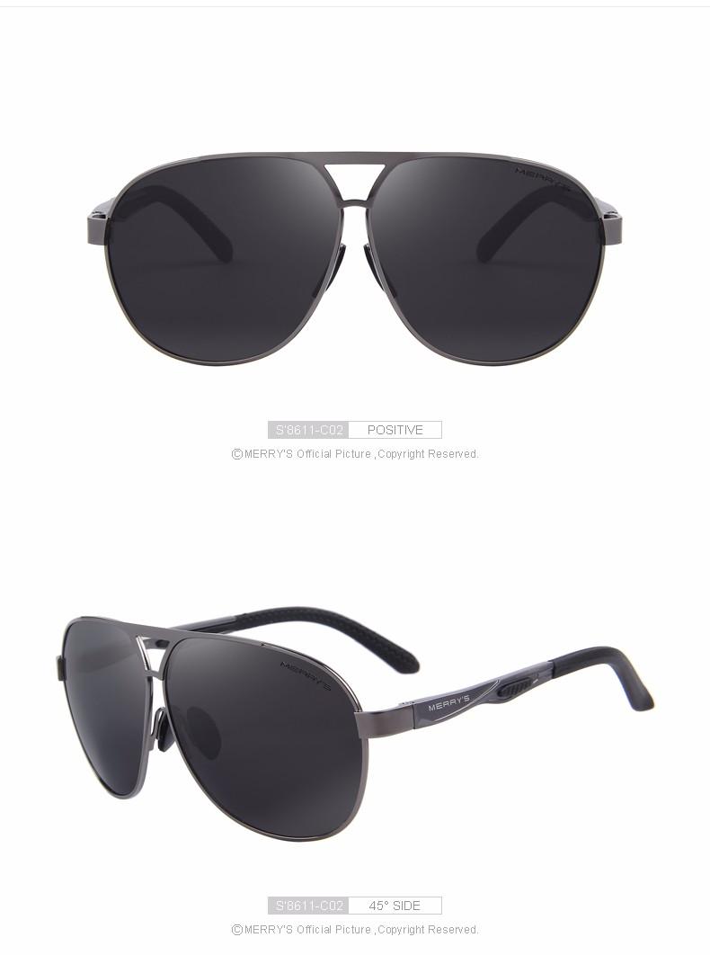 מרי 2016 איכותי מעצב מותג מגניב מקוטב משקפי שמש Mens להגן אבזרים משקפי שמש לגברים עם תיבת S'8611