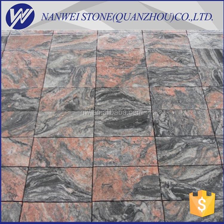 Natürliche Großhandel Multicolor Billig Einfahrt Granit Pflasterstein Für  Garten Gehwege Und Flagge Platten