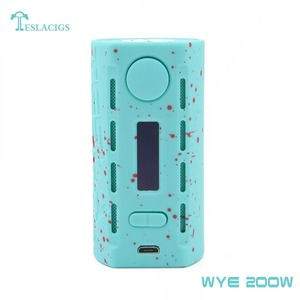 Tesla mods Colorful and light weight Teslacigs box mod WYE 200w ecigs