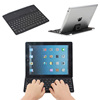 Aluminum bluetooth keyboard for iPad 4 with holder