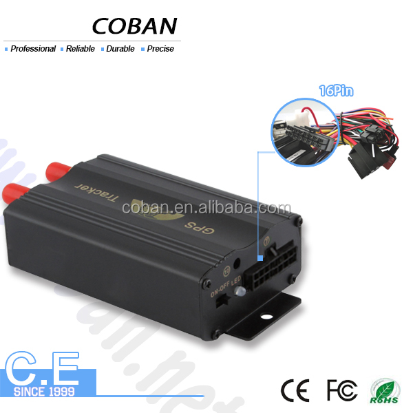 Coban gps tk103b plus fleet management gps tracker with central lock system