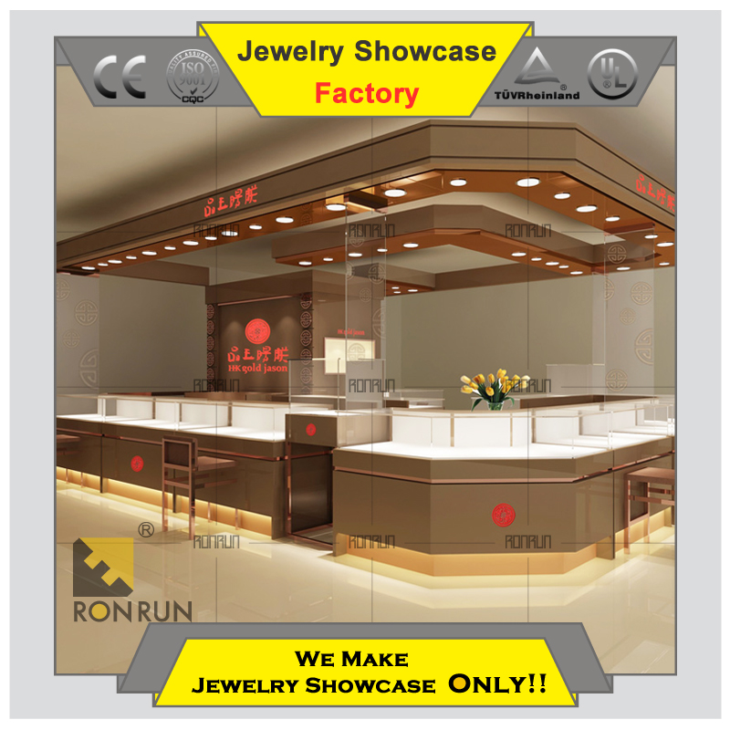Top selling customized products Glass jewelry vitrine display cabinet table