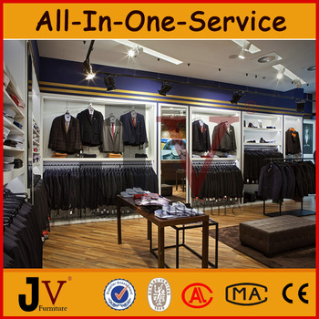 Professional Menu0027s Clothing Retail Stores Furniture Designed For Clothes  Shop