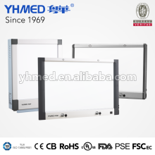 Custom size slim medical LED industrial x-ray film viewer