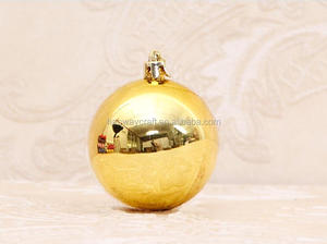 Big 25cm diameter giant christmas hanging balls for decoration