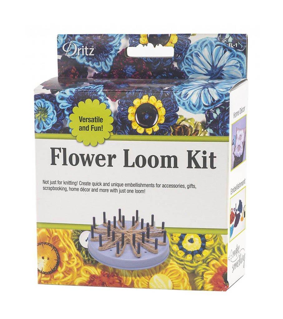 Dritz Flower Loom Kit - Knitting Tool - 1 kit - Tassel Maker and More