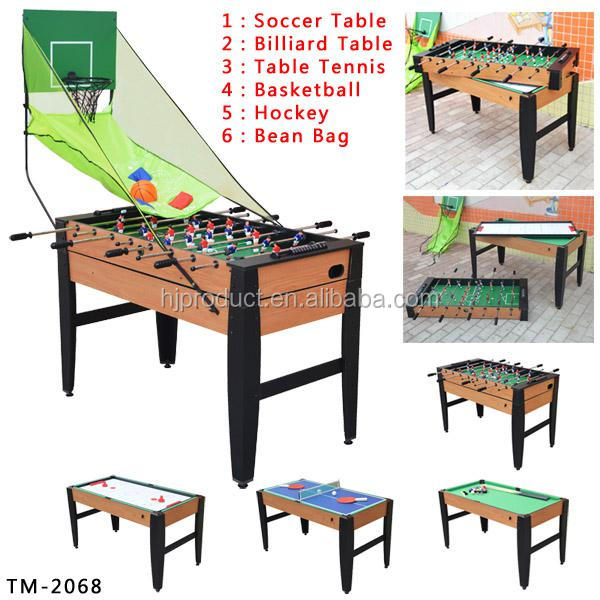 Amazing 5 In 1 Pool Table Mdf Multi Purpose Game Table For Kids   Buy Multi Table  For Kids,Multi Game Table For Kids,Pool Table Product On Alibaba.com