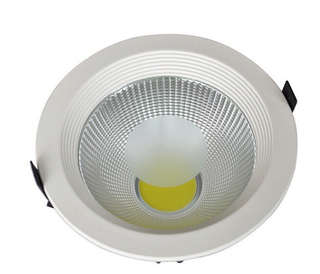 DHL Free shipping 10pcs/lot high power led cob downlight 20w 6 inch COB LED downlight AC85-265V dowlight led cob 20w