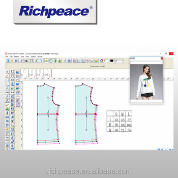 Richpeace Garment Cad System Compatible With Digitizer Plotter Cutter Plotter And Cutting Machine View Apparel Cad Software Richpeace Product Details From Tianjin Richpeace Ai Co Limited On Alibaba Com