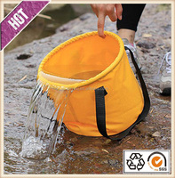 Outdoor and car washing folding bucket