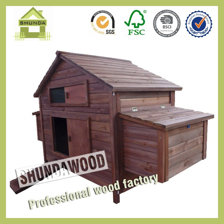 SDC0203 Wooden Pet Home Chicken Coop